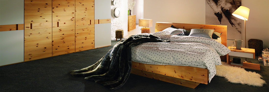 MassivholzSchlafzimmer Schränke München Schlafraumkonzept Stephan - Schlafzimmer stephan