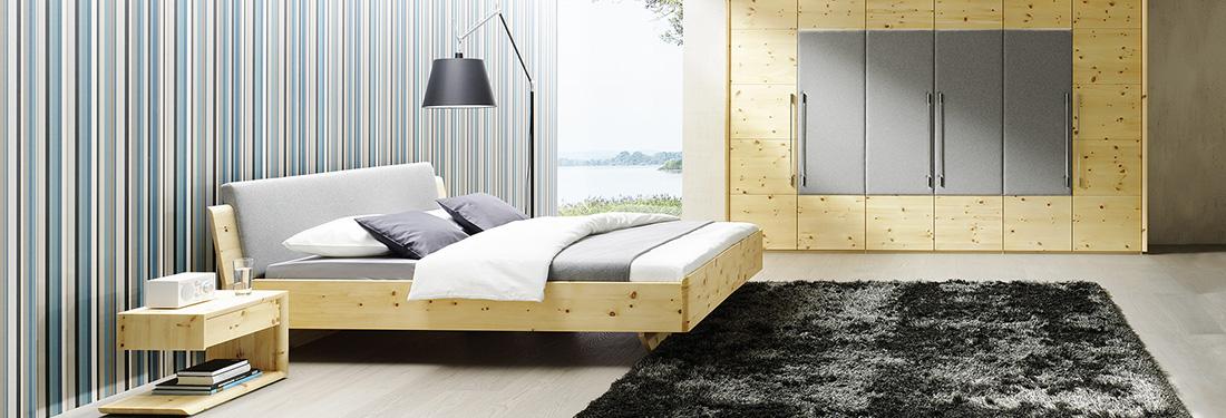 Massivholz-Schlafzimmer Schränke München | Schlafraumkonzept Stephan