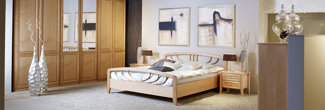 Schreinerei München Betten nach Maß | Schlafraumkonzept Stephan